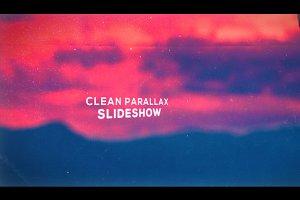 Clean Parallax Slideshow