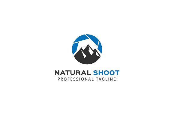 Natural Shoot Logo Template