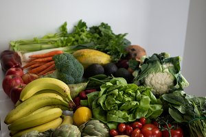 Fruit and Vegetables close up
