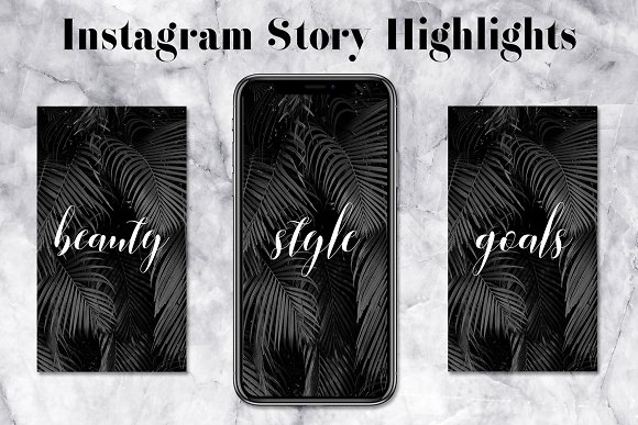 Minimal Instagram Highlight Icons