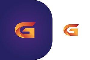 G Letter modern logo