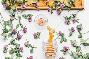 Honey and wild flowers