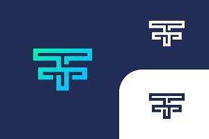 TFF  Letters Logo Design