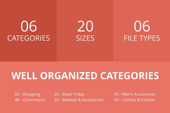 284 Shopping Line Multicolor Icons in Graphics - product preview 1