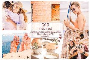 Q10 VSCO Inspired Lightroom Presets