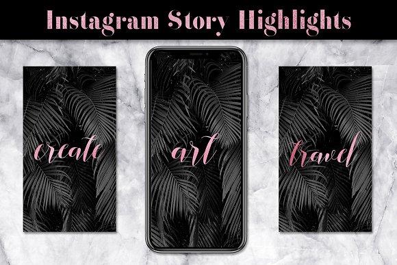 Rose Instagram Highlight Icons