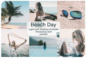 Beach Day Lightroom Presets