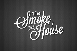 Smokehouse vintage lettering.