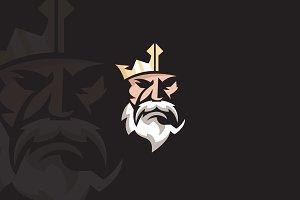 King Logo Character