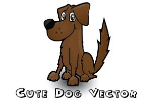 Dog vector AI File