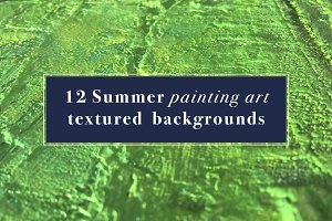 12 Organic painting textures