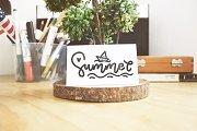 -40%  10 font of Summer months
