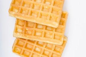 Waffles delish dessert