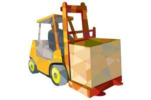 Forklift Truck Materials Handling Bo