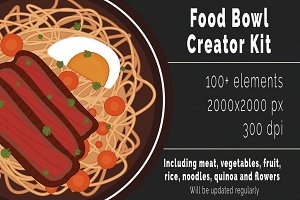 Food bowl creator kit