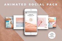 ANIMATED Copper Social Media Pack