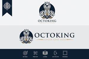 Octopus King Logo
