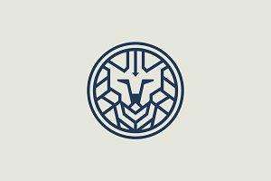 Premium Lion Logo V-4