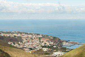 Landscape view of San Sebastian city