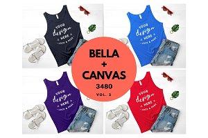 Bella Canvas 3480 Tank Top Mockup V2
