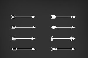 Arrows vector set