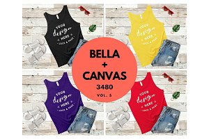Bella Canvas 3480 Mockup Tank Top V5