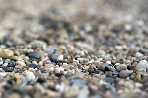 pebble floor