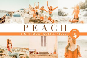 Peach · Lightroom Mobile preset