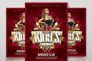 Kings Day Flyer