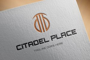 Citadel Place Logo Template