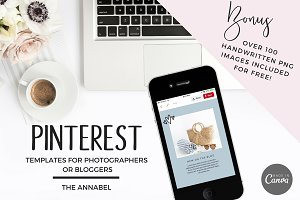 Canva Pinterest Template