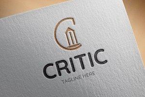 Critic Logo Template