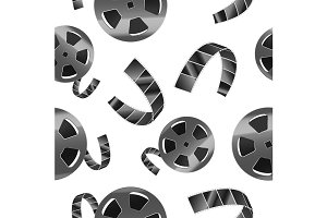 Reel of Film Tape Pattern
