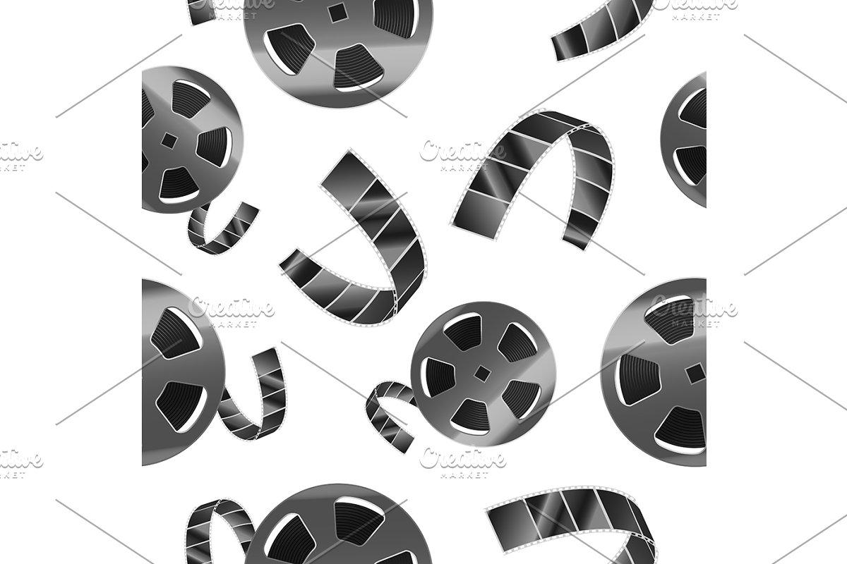 Reel of Film Tape Pattern
