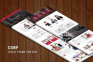 Corp – One Page Child Theme for Divi