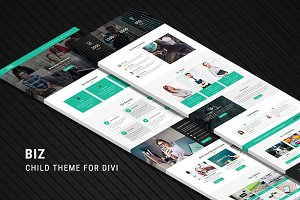 Biz – One Page Child Theme for Divi