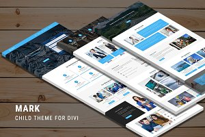 Mark – One Page Child Theme for Divi
