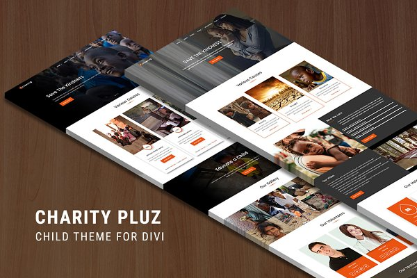 WordPress Non-Profit Themes - Charitypluz - Child Theme for Divi