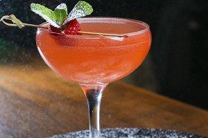 Сocktail at the bar