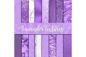 Lavender Textures Digital Paper