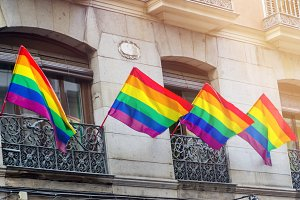 Madrid gay flag