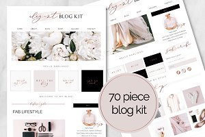 70 Piece Elegant Blog Kit
