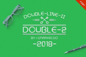 DoubleLine2 Font