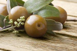 natural olives