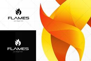 Flames - Modern Logo Template