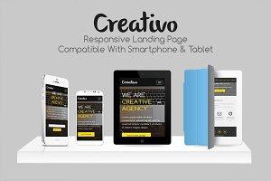 Creativo - Responsive Landing Page