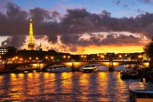 Bridge of Alexandre III, Paris,
