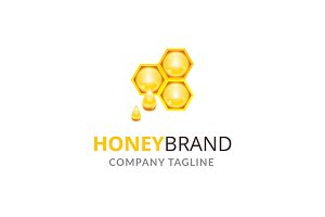Honey Brand Logo