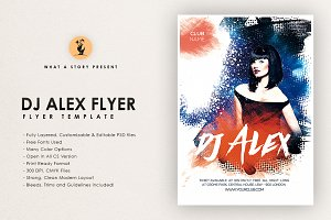 Dj Alex 2 Flyer