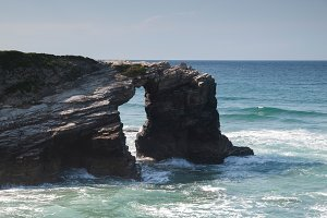 "Las Catedrales"" (Cathedrals beach)"
